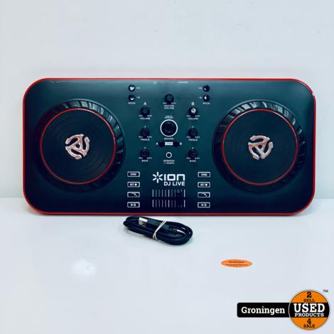 ION DJ Live DJ controller | incl. USB-kabel