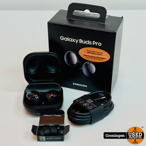 Samsung Galaxy Buds Pro Noise Cancelling Phantom Black   COMPLEET IN DOOS