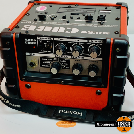 Roland Micro Cube Rood gitaarversterker combo