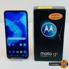 Motorola Moto G8 Power Lite Royal Blue NIEUWSTAAT! | Android 11 | COMPLEET IN DOOS