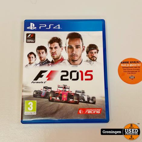 [PS4] Formula 1 / F1 2015