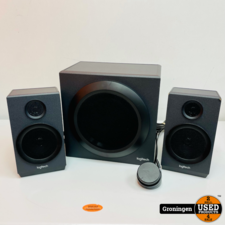 Logitech Logitech Z333 2.1 Speakerset met volumeregeling | 40 watt RMS