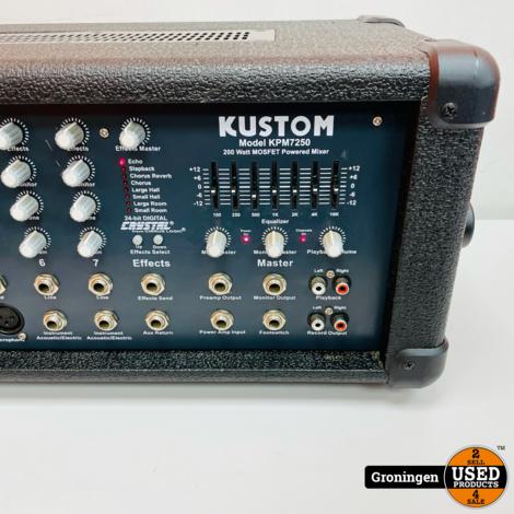 Kustom KPM7250 Powered Mixer