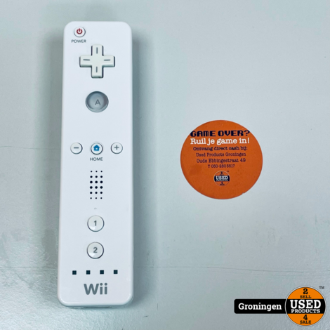 [Wii] Nintendo Wii Remote White