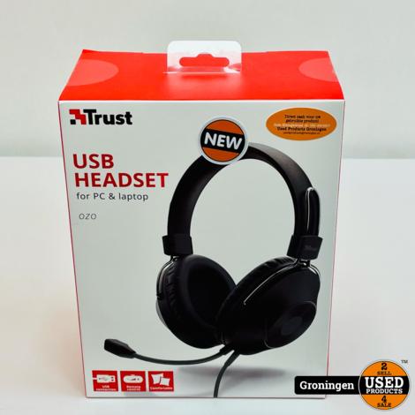 Trust 24132 Ozo USB-A Bedrade Office Headset | NIEUW IN DOOS!