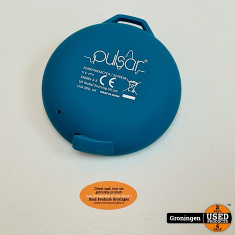 Pulsar Bluetooth speaker met AUX blauw