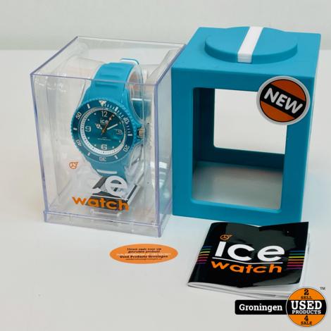 Ice Watch Sunshine TUN.TE.U.S.14 Turqoise horloge | NIEUW!