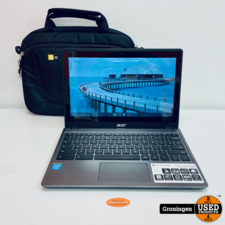 Acer Acer Chromebook C720P 29554G03aii NETTE STAAT! 11.6'' Touch   4GB   32GB SSD   ChromeOS   incl. tas
