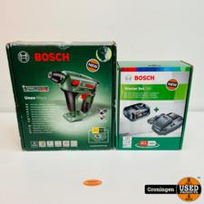 Bosch Bosch Uneo Maxx 18V accuboorhamer SDS + 2.5Ah Li-Ion accu en snellader | NIEUW!