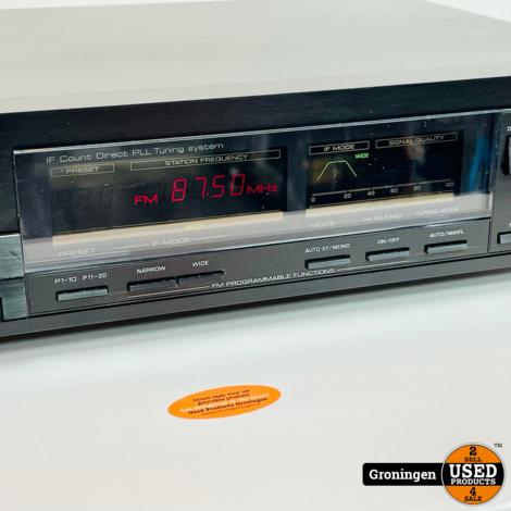 Yamaha TX-500 Vintage Natural Sound AM/FM Stereo Tuner (1986-89)