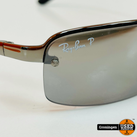 Ray-Ban RB3217 004/82 58-15 3P Gray Mirror Gradient Polarized zonnebril