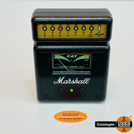 Marshall Cat-1 Vintage Chromatic Automatic Tuner | batterijklepje ontbreekt