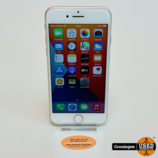 Apple Apple iPhone 8 64GB Silver   NIEUWE ACCU!   iOS 14.7