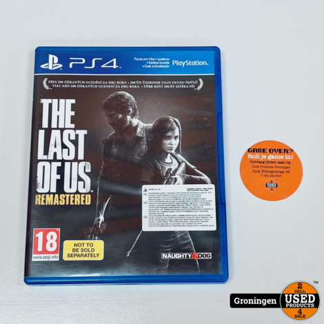 [PS4] The Last of Us Remastered