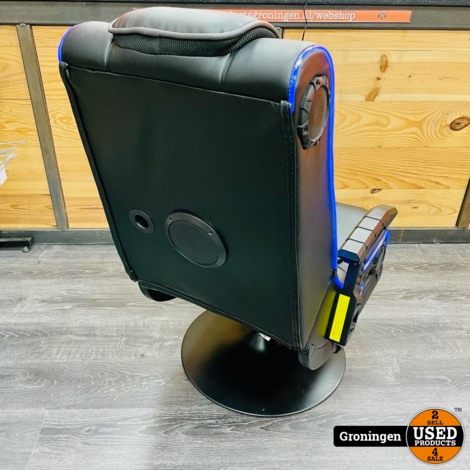 X Rocker EVO Pro LED 4.1 gamestoel   Multimedia LED Gaming Chair