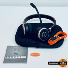 Jabra Jabra Evolve 65 MS Stereo   Bluetooth Duo Headset   incl. hoes en kabel