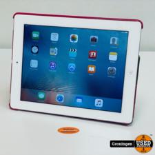Apple Apple iPad 2 Wi-Fi 16GB Wit MC979NF   iOS 9.3.5   incl. TabletCover en laadkabel