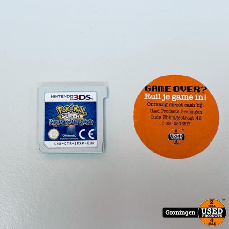 [3DS] Pokemon: Super Mystery Dungeon LNA-CTR-BPXP-EUR | losse cassette
