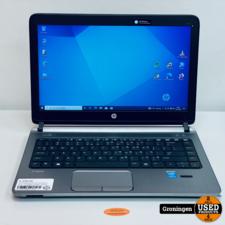 HP HP ProBook 430 G2 K9J62EA   13.3''   i5-5200U   8GB   120GB SSD   4G-SIM   Win 10 Pro   Linker bovenkant kapje beschadigd