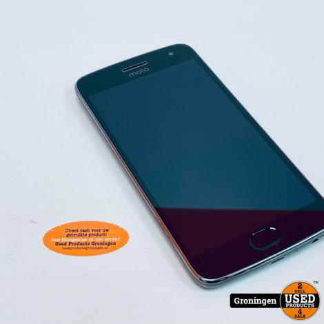 Motorola Moto G5 Plus 32GB Lunar Gray | Android 8.1 | NETTE STAAT!