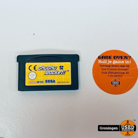 [GBA] ChuChu Rocket AGB-ACRP-UKV | losse cassette