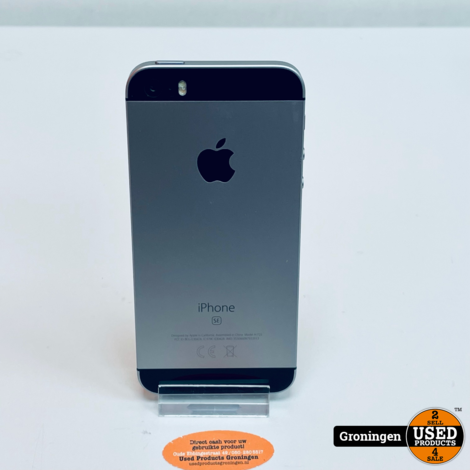 Apple iPhone SE 32GB Space Gray NETTE STAAT! Accu 90% | iOS 14.7