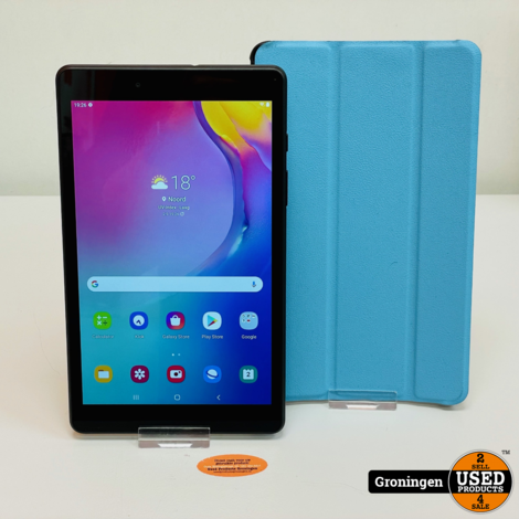 Samsung Galaxy Tab A 8.0 T290 32GB WiFi Black NIEUWSTAAT! Android 11 | incl. Cover en lader