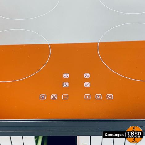 Tomado TIH5501B/01 Inductiekookplaat - Vrijstaand - 1 fase plug & play - Touch bediening - Zwart