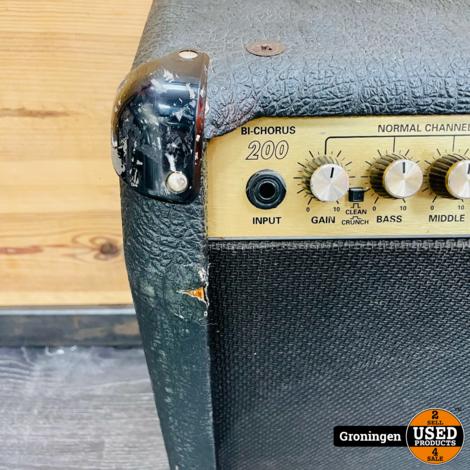 Marshall 8280N Valvestate Bi-Chorus 200 Combo Gitaarversterker | 2x 12'' Celestion G12T | incl. footpedal