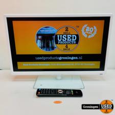 MediaMarkt OK OLE 24150-W 24'' Full HD LED TV Wit | 2x HDMI, 1x USB | incl. AB