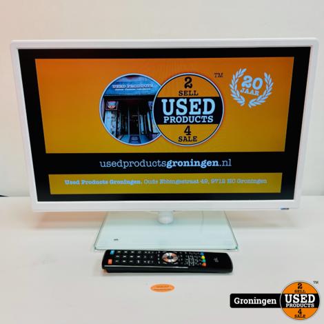 OK OLE 24150-W 24'' Full HD LED TV Wit | 2x HDMI, 1x USB | incl. AB