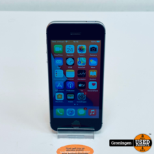 Apple Apple iPhone SE 32GB Space Gray NETTE STAAT! Accu 92%   iOS 15