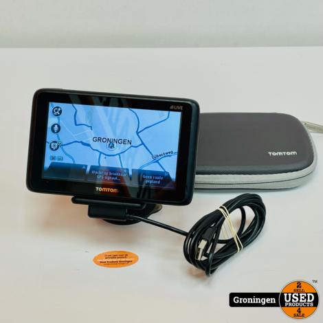 TomTom GO LIVE 2050   kaart van Europa   incl. raamhouder, kabel en hoes