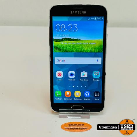 Samsung Galaxy S5 16GB G900F Black   Android 6.0.1
