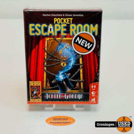 Pocket Escape Room - Achter het Gordijn - 999 Games   NIEUW!