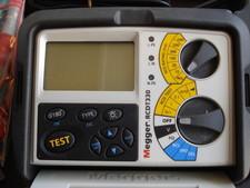 Megger Megger RCDT330 FI/RCD-TESTER Compleet als nieuw in koffer.