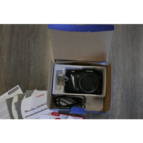 Canon powershot sx130 IS compleet in doos