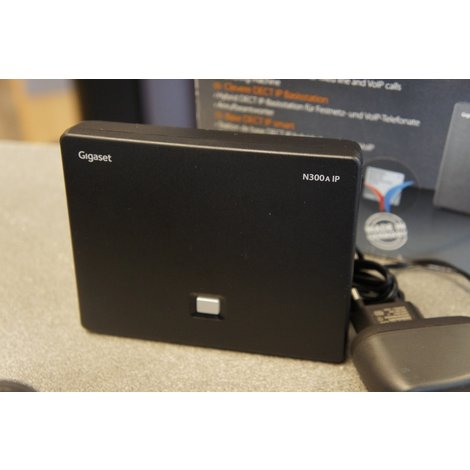 Gigaset n300 aip Smart Dect IP Base Station als nieuw!