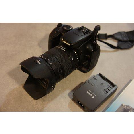 Canon EOS 400D + Sigma 18-125mm lens lens