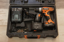 AEG Aeg BS 14G  accu/boor-schroef machine 3x accu