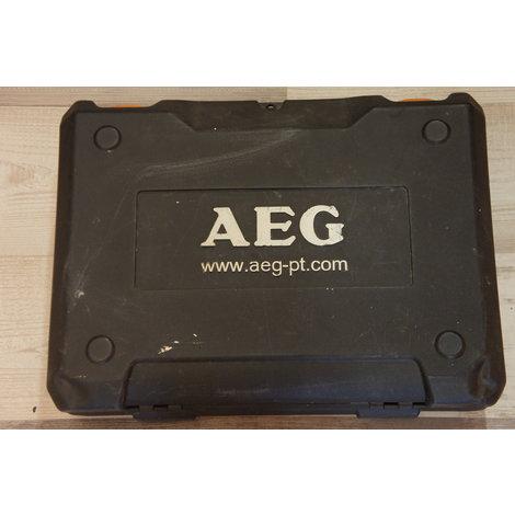 Aeg BS 14G  accu/boor-schroef machine 3x accu
