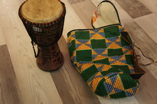 Djembe inclusief hoes