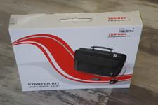 Toshiba laptoptas 15.4 inch starterskit + Muis + Usb-hub nieuw in doos