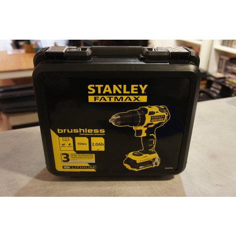 Stanley FMC607D2 NIEUW Fatmax 18V 2.0Ah Premium Brushless Drill Driver - accu boor schroef machine NIEUW