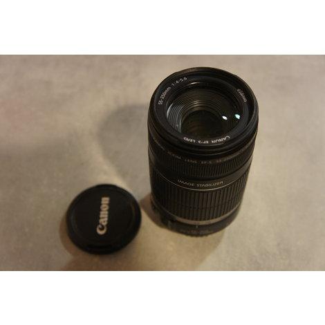 Canon EFS 55-250mm F4-5.6 IS lens in nette staat