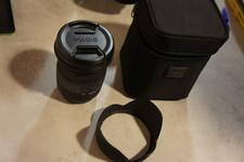 Sigma Sigma DC 18-50MM F2.8 EX Macro lens voor Canon in nette staat