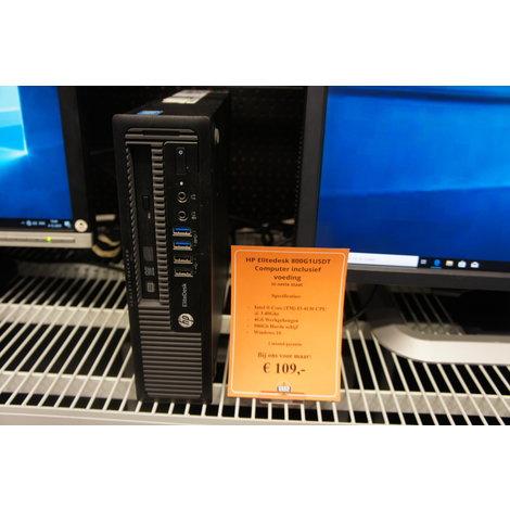 HP Elitedesk 800G1USDT - I3 - 4GB - 500GB - W10