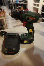 Bosch Bosch psr 18 li-2 18v accu boormachine inclusief oplader + accu