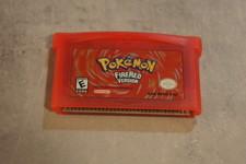 Pokémon Fire Red Gameboy Advance game
