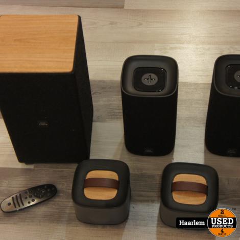 Philips Fidelio E5 Bluetooth Suround 4.1 Speaker set - HDMI - Bluetooth + AB